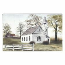 "SUNDAY MEETING Church Lighted Canvas, LED Light, 12"" x 20"" by Ohio Wholesale"