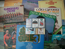 Welsh Choirs 11 LPs 5 Cassettes Llanddulas Morriston Pendyrus Tonna Treorchy NM