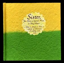 Sister:  You Have a Special Place in My Heart - Blue Mountain Press  NEW   MINT