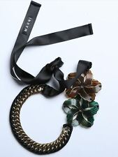 ELEGANT MARNI FLOWERS NECKLACE – NEW WITH DUSTBAG