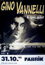 VANNELLI, GINO - 1995 - Konzertplakat - Yonder Tree - Tourposter - Hamburg
