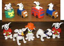 Vintage 1996 McDonalds/Disney 101 Dalmatians Moving Toys Set of 9 Rare