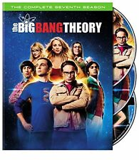 The Big Bang Theory: The Complete Seventh Season 7(DVD 3-Disc Set)NEW Free Shipp