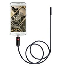 2 In 1 Smartphone USB Endoscope Inspection Camera 5.5mm For Android 6 LED LE