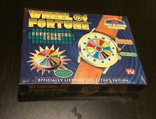 NIB VTG WHEEL OF FORTUNE TV SHOW COLLECTOR WATCH WHITE SAJAK SEALED FREE SHIP