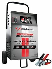 Automatic Wheeled Battery Charger with Engine Start 12V Schumacher SE-1555A