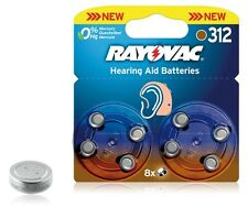 RAYOVAC AUDITIVE ZA312 / PR41 / BLISTER DE 8 PILES