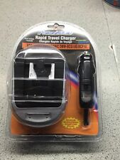 Rapid Travel Charger With European Adapter Plug