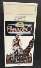 locandina Nuovo Cinema Paradiso 33x70 ristampa digitale in tiratura limitata
