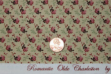 """""""ROMANTIC OLDE CHARLESTON"""" COTTON REPRODUCTION QUILT FABRIC BTY MARCUS 0800-0126"""