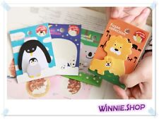 Sticky Memo Notepad Parent and Child Cartoon Animal Post-it Sticker Bookmark