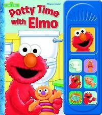 Potty Time with Elmo (2011, Board Book)