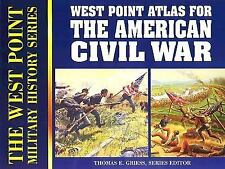Atlas for the American Civil War (West Point Military History Series)