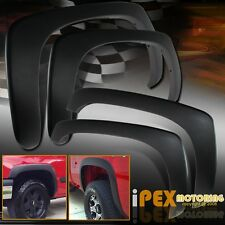 (4PCS) 1999-2007 Chevy Silverado & 1999-2006 GMC Sierra Fender Flares Protectors
