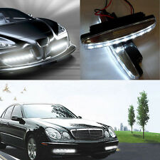 Useful 8LED Car Light DRL Fog Driving Daylight Daytime Running White Head Lamp