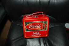 Coca Cola School Days Tin Lunch Box used as Doll Accessory for Madame Alexander