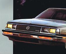 1985 Buick ELECTRA Brochure / Catalog: PARK AVENUE, T Type, 300, 380, 430