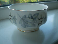 Royal Albert Silver Maple Sugar Bowl Fine Bone China 1st Quality