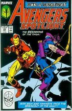 Avengers Spotlight # 26 (Hawkeye & Iron Man) (USA, 1989)