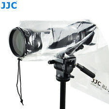 JJC 2PCS Waterproof Rain Cover Coat for Canon Nikon Sony Fujifilm Olympus Camera