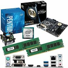 INTEL Pentium G4400 3.3Ghz & ASUS Z170-P & 16GB DDR4 2133 CRUCIAL Bundle