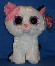 "TY BEANIE BOOS BOO'S - MUFFIN the 6"" CAT- MINT with MINT TAG"