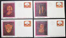 Treasures of Tutankhamen US postage set of 4 covers GS FDC USA lettere (h-8343
