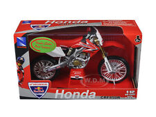2008 HONDA CRF450R RED BULL RACING DIRT BIKE 1/12 MOTORCYCLE BY NEW RAY 43477