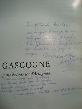 J.-B. LAFFITTE M. CARDOZE Gascogne, pays de tous (...) 1997 Envois des auteurs