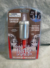 Hog Wild Red / Blue Temperature Controlled Faucet Light NEW