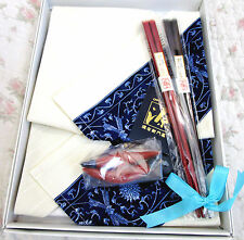 HIGH-CLASS ARITA GEN-EMON Japan Takashimaya Gift Set Souvenior Chopstick Napkin