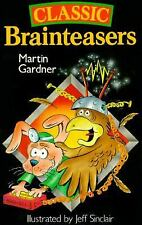 Classic Brainteasers by Martin Gardner, Good Book