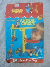 Vtg Little People EMPTY Box ONLY Play Family Animal Circus 135 1973 Fisher Price