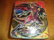 Yu-Gi-Oh! Empty 5D's 2010 Collection Tin Box 2nd Wave Red Nova Dragon Yugioh D.