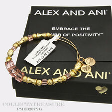 Authentic Alex and Ani Assorted Swarovski Crystal & Metal Beaded Bangle L1
