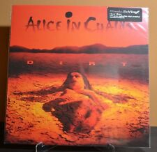 ALICE IN CHAINS - DIRT, Import 180 Gram Audiophile BLACK VINYL LP Printed Sleeve