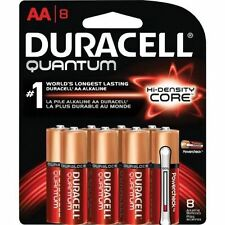 Duracell Quantum AA Batteries With Duralock Power Preserve 8pk - Free Shipping