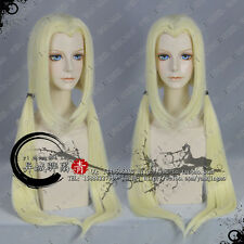 NARUTO Tsunade Anime Cosplay Costume Wig (It like second picture) +FreeCap+Track