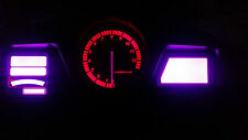 Púrpura CBR1100XX Blackbird LED Dash Kit de conversión de Reloj lightenupgrade