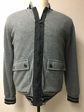 BARBOUR 100% WOOL MEN'S FULL ZIP JACKET size L