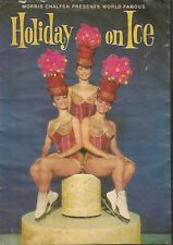 Programme Holiday On Ice Full Of Images 1970