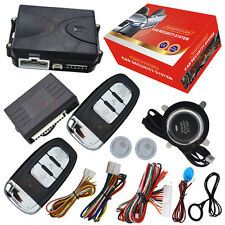 RFID immobilizer car security system keyless go push button start stop