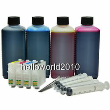 CARTUCHOS RECARGABLES 16 / 16XL WORKFORCE WF2520NF + 1L DE TINTA ARC CHIP