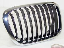 BMW Right Passenger Chrome Grill Germany Genuine OE 51138208490