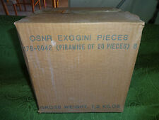 EXOGINI - Scatola Vuota ORIGINALE che conteneva 20 Piramidi - Fondo di Magazzino