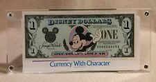 "1994 Disney Dollar Series ""A"" Uncirculated Mickey Mouse with Currency Envelope."