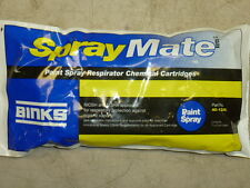 NEW! BINKS SPRAY MATE PAINT SPRAY RESPIRATOR CHEMICAL CARTRIDGES, 40-1248