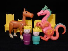 Fisher Price Little People 1974 Play Family Castle #993 Accessory Lot