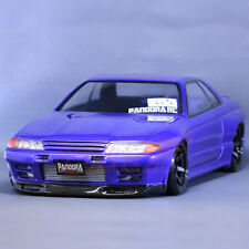 Pandora NISSAN SKYLINE R32 GT-R 1:10 RC Cars Drift 195mm Clear Body Set #PAB-129