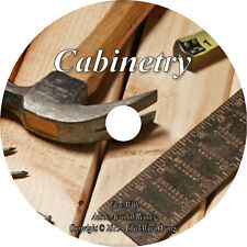 42 RARE Books on DVD, Cabinetry How to Build Cabinet Making Guide Cabinetwork